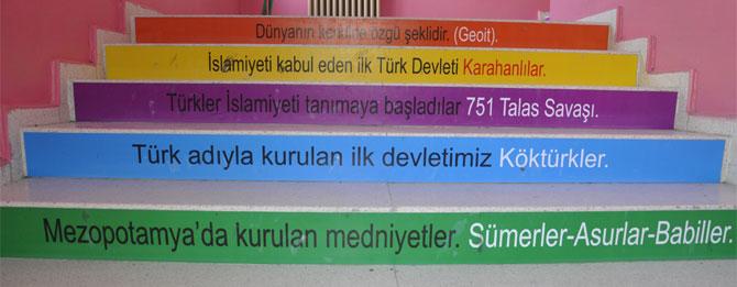 Mehmet Akif Ortaokulu'ndan Yaratıcılık Örneği
