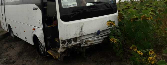Trafik kazasında 7 yaralı!