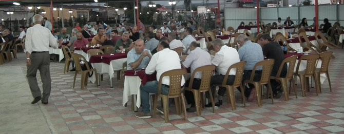 Muratlı Belediyespor yemeği renkli geçti