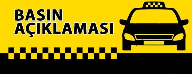 Belediyeden ticari taksi açıklaması!