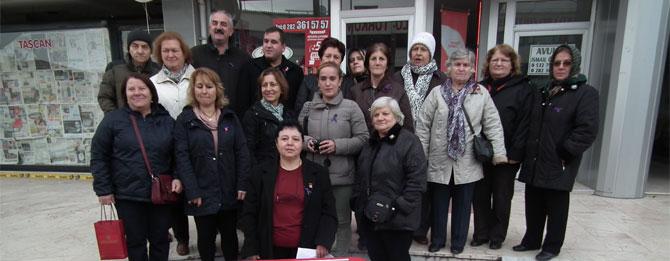 CHP Kadın Kolları: Şiddete Hayır