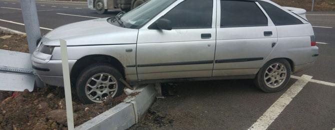 Çevre yolunda beklenmedik kaza!