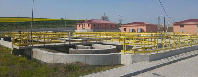 Muratlı atık su arıtma tesisi devredildi