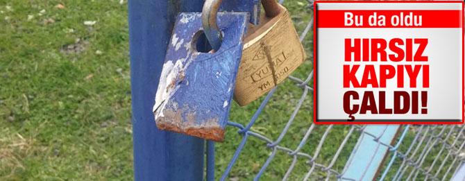 Aydınköy'de hırsız kapıyı çaldı!