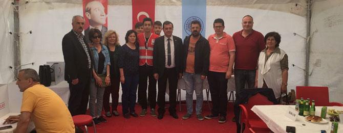 CHP Muratlı destek verdi!