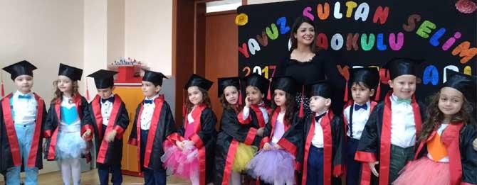 Gülen yüzlerin mezuniyet heyecanı!
