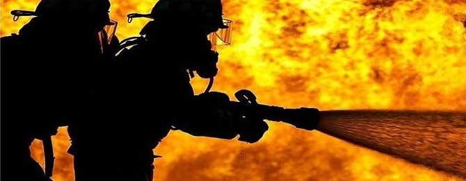Saman depolarında yangın!