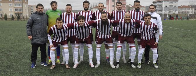Muratlı Belediyespor'dan gol bombardımanı