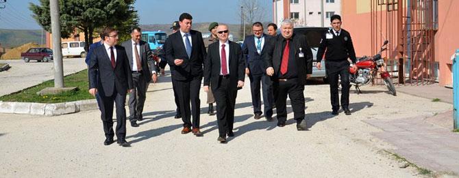Vali Mehmet Ceylan Muratlı ziyaretinde