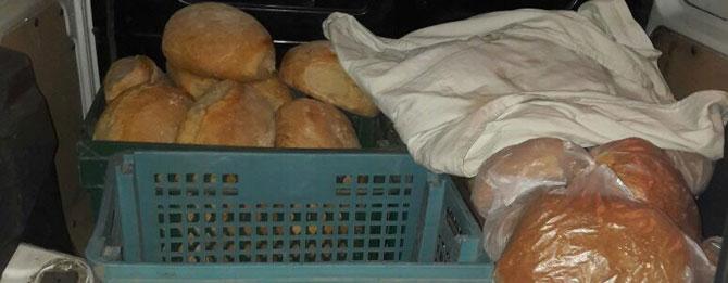 Zabıtadan kaçak ekmek operasyonu