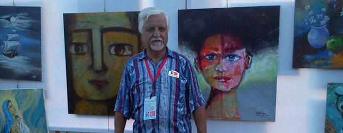 Ressam Akan'dan Türk - Yunan barışına destek