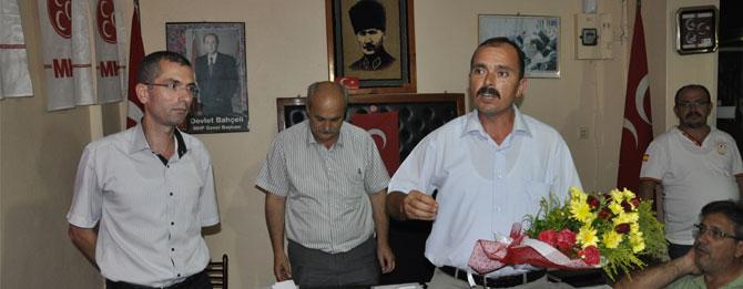MHP Muratlı İlçe Teşkilatı'nda Görev Değişimi