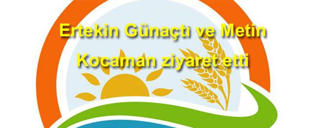 Tarım Müdüründen gazetemize ziyaret