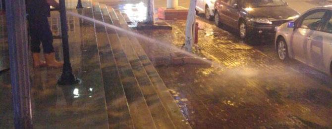 Belediyeye eleştiri yağmuru