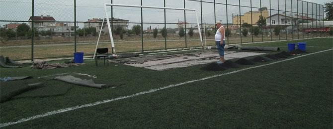 Stadyum yeni sezona hazırlanıyor