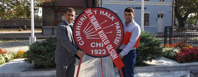 CHP'nin 91. Kuruluş Yıldönümü Muratlı'da Kutlandı