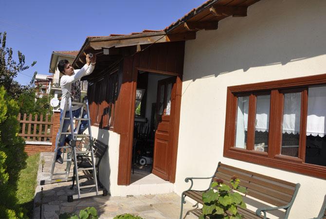 Muratlı Atatürk Evi'ne Yüksek Güvenlik