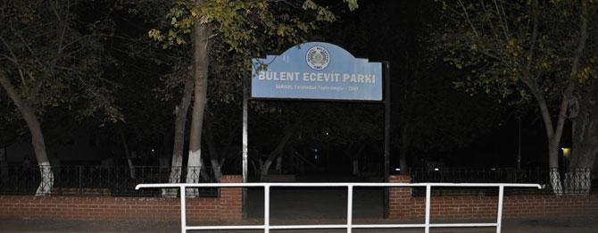 Bülent Ecevit Parkı Karanlığa Mahkum