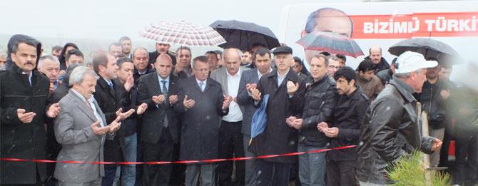 Alparslan Türkeş Hatıra Ormanı Açıldı