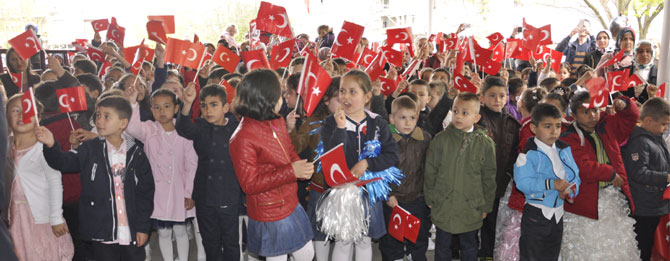 Atatürk İlkokulu'ndan Anlamlı Etkinlik
