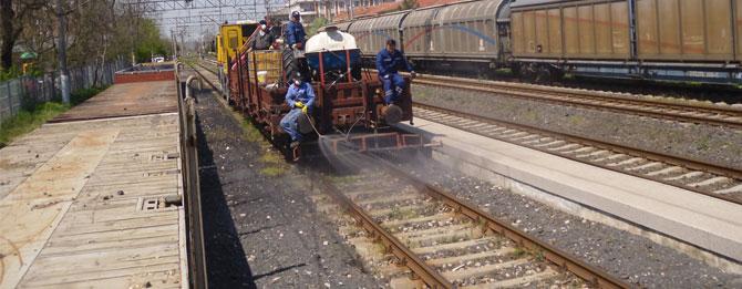 TCDD'den Demir Yolu Hattında İlaçlama