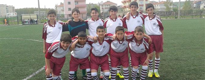U-13 Derbisinde Kazanan Muratlı Belediyespor