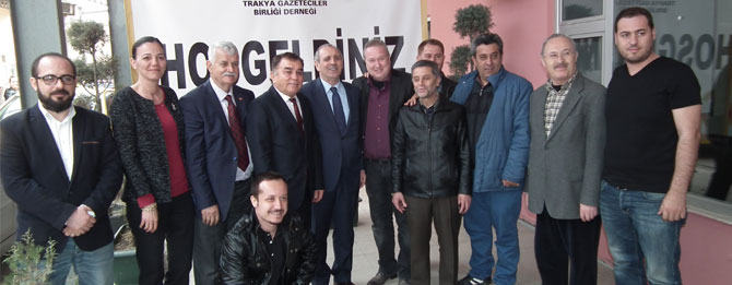 Vali Salihoğlu Gazetecilerle Buluştu
