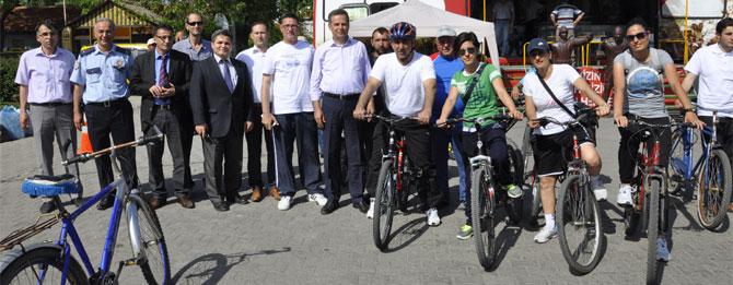 Nebi Tepe, ünlü bisikletçilere taş çıkardı